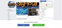 Sky Hotel Nicosia Website Screenshot
