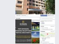 Europa Hotel Nicosia Website Screenshot