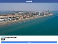Onisillos Hotel Website Screenshot