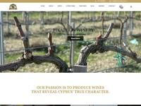 Fikardos Winery Website Screenshot