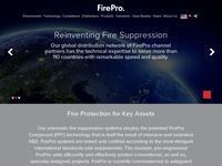 FirePro Website Screenshot