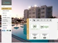 Frixos Hotel Website Screenshot