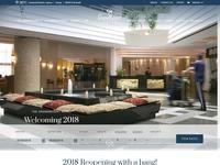 GrandResort Limassol Website Screenshot