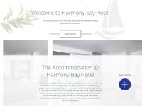 Harmony Bay Hotel Website Screenshot