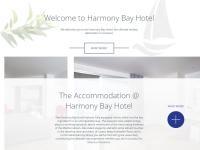 Harmony Bay Hotel Website Screenshot
