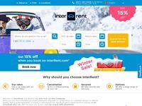 Inter Rent Website Screenshot