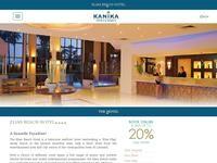 Elias Beach Hotel Website Screenshot