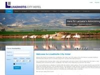 Livadhiotis City Hotel Website Screenshot