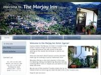 Marjay Inn Hotel Website Screenshot