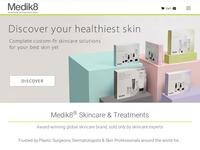 Medik8 Skincare Website Screenshot