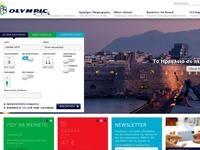 Olympic Airways Website Screenshot