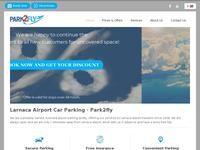 Park 2 Fly Airport Parking Website Screenshot