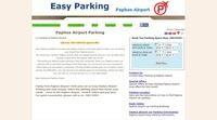 Parking Paphos Airport