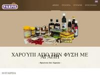 Stavros Parpis Foodstuffs Website Screenshot