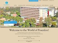 Poseidonia Beach Hotel Website Screenshot
