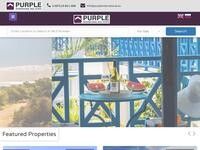 Purple International Website Screenshot