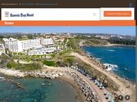 Queens Bay Hotel Website Screenshot