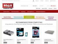 Rolls Website Screenshot