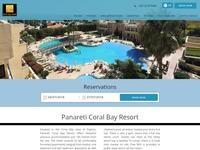 Royal Coral Bay Website Screenshot