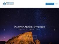 Tsokkos Hotels Website Screenshot