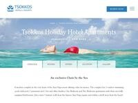 Tsokkos Holiday Apartments Website Screenshot