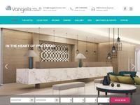 Vangelis Hotel Apts Website Screenshot