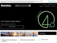Deloitte Cyprus Website Screenshot